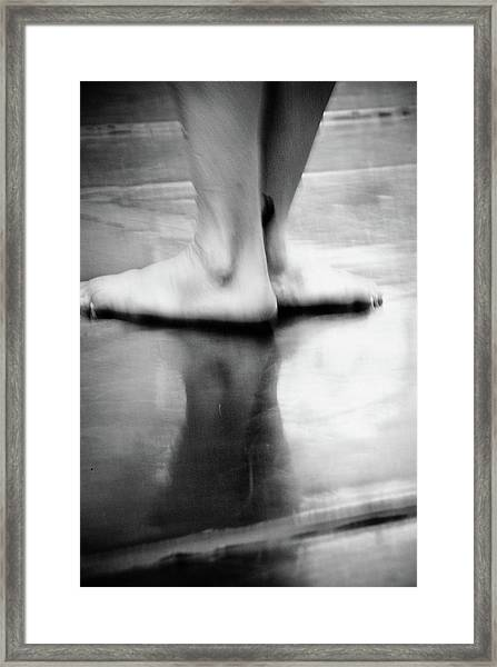 Framed Print featuring the photograph Modern Dance 3 by Catherine Sobredo