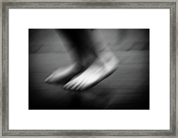 Framed Print featuring the photograph Modern Dance 33 by Catherine Sobredo