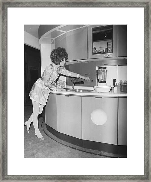 Modern Kitchen Framed Print