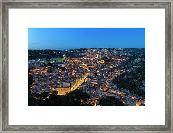 Modica, Sicily Framed Print