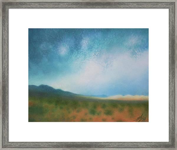 Mojave Wilderness Framed Print by Robin Street-Morris