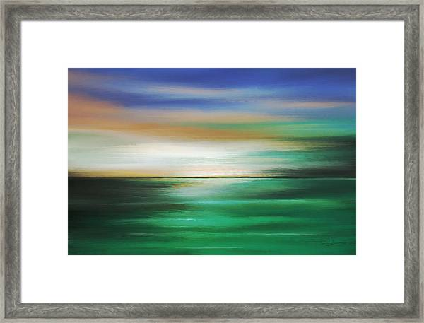 Moment Of Tangency Framed Print