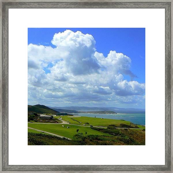Monte De San Pedro_ A Coruña Framed Print
