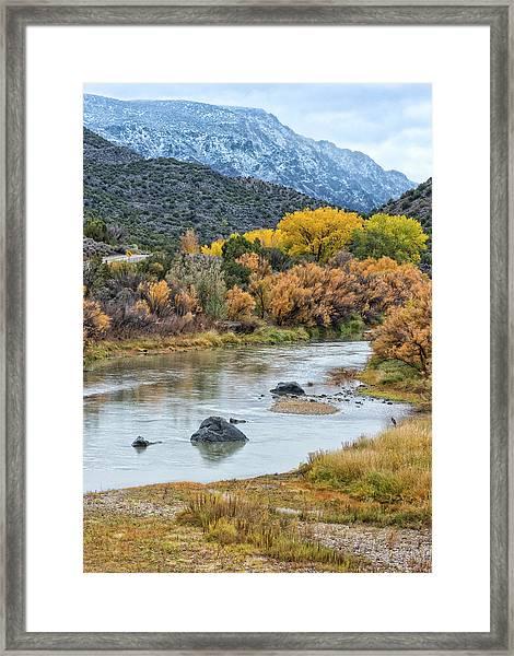 Monument Autumn Framed Print