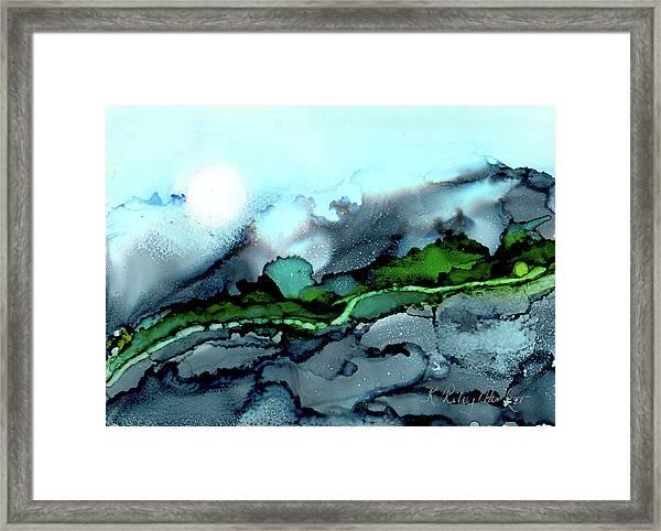 Moondance Iv Framed Print