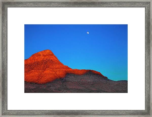 Moonrise Framed Print by Fernando Margolles