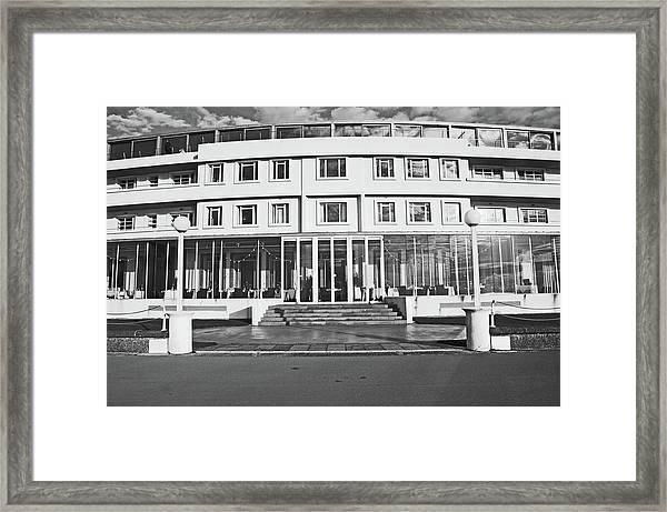 Morecambe. The Midland Hotel Framed Print