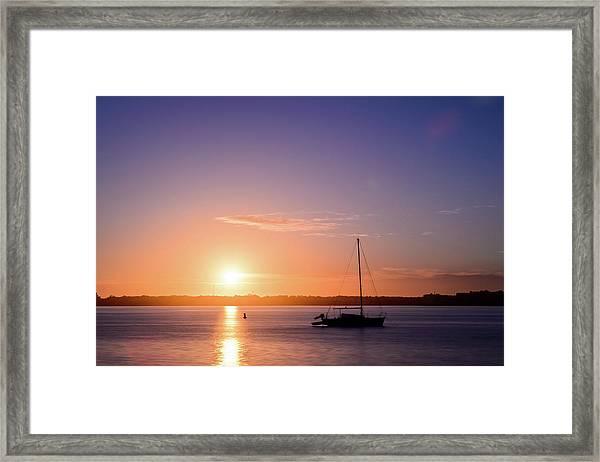Morning Aurora Framed Print