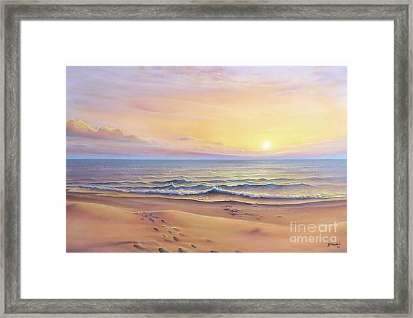 Morning Sea Breeze Framed Print