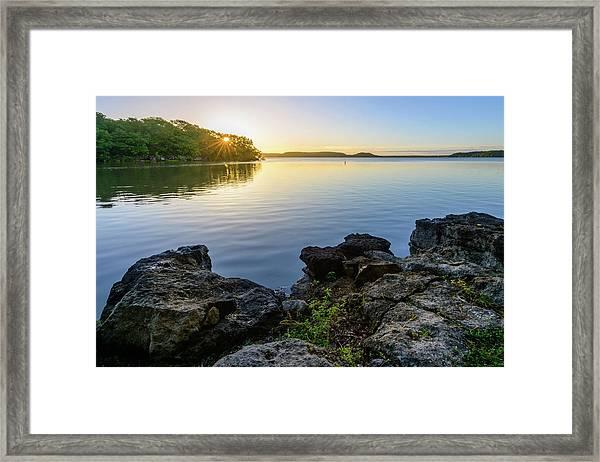 Morning Sunshine Framed Print