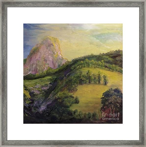 Moro Rock, Kings Canyon Framed Print