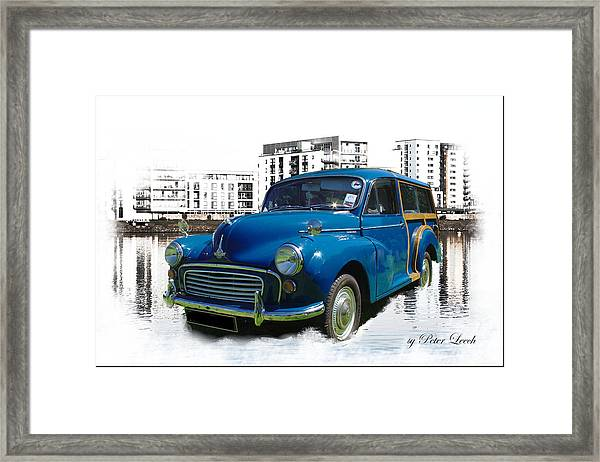 Morris Super Minor Framed Print