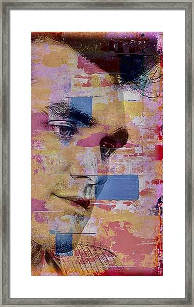 Morrissey Around Town Framed Print