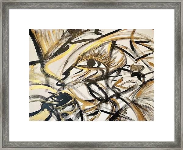 Motley Gold  Framed Print