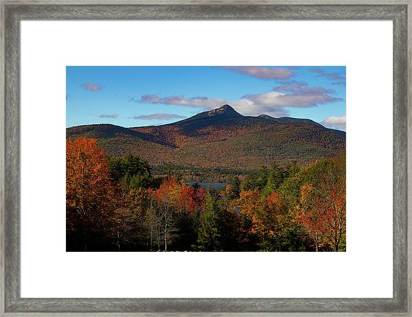 Mount Chocorua New Hampshire Framed Print
