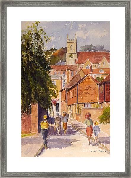 Mount Street, Hythe, Kent Framed Print