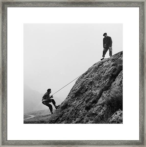 Mountain Police Framed Print