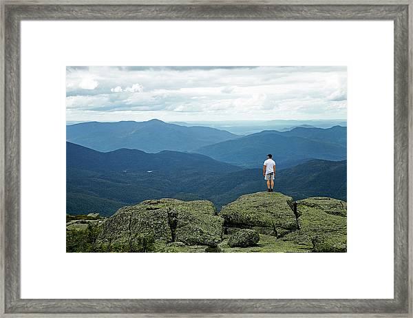 Mountain Top Framed Print