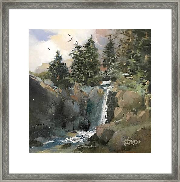 Mountain Waters Framed Print
