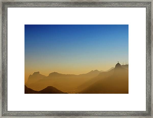 Mountains Of Rio De Janeiro Framed Print