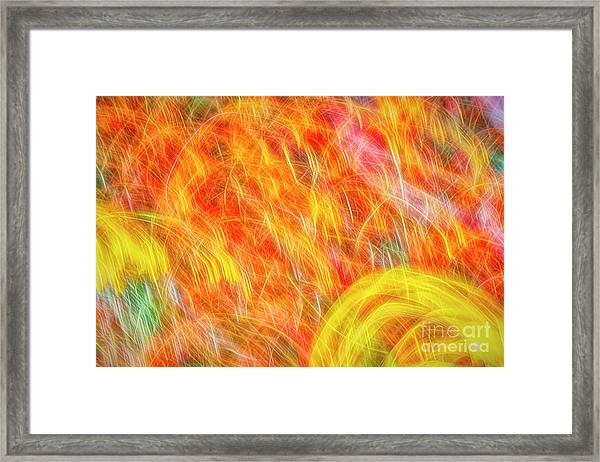 Movement 8 Framed Print