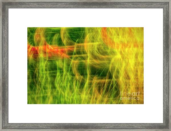 Movement 9 Framed Print