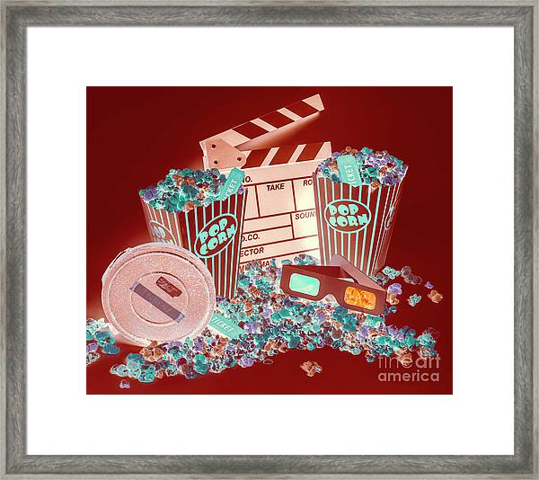 Movie Makers Inc. Framed Print