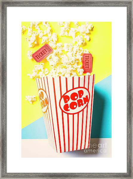 Movie Motion Picture  Framed Print