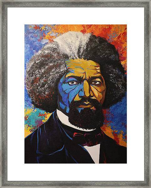 Mr. Douglas Framed Print