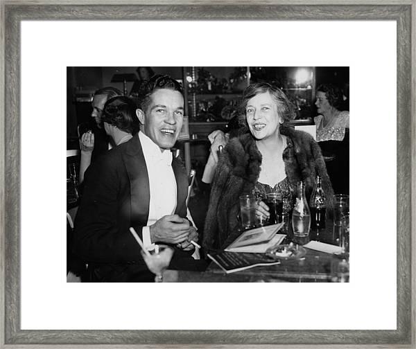 Mr. Robert Stevens And Mrs. Nicholas Framed Print