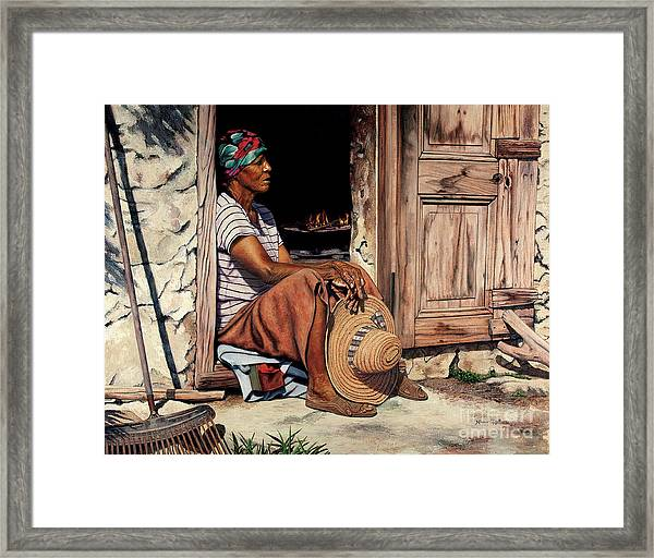 Ms Lerlene Framed Print