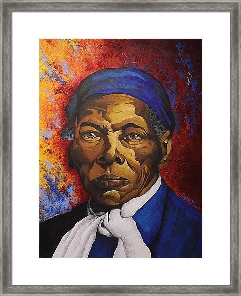 Ms. Tubman Framed Print
