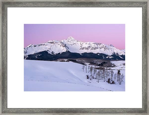 Mt Wilson Framed Print