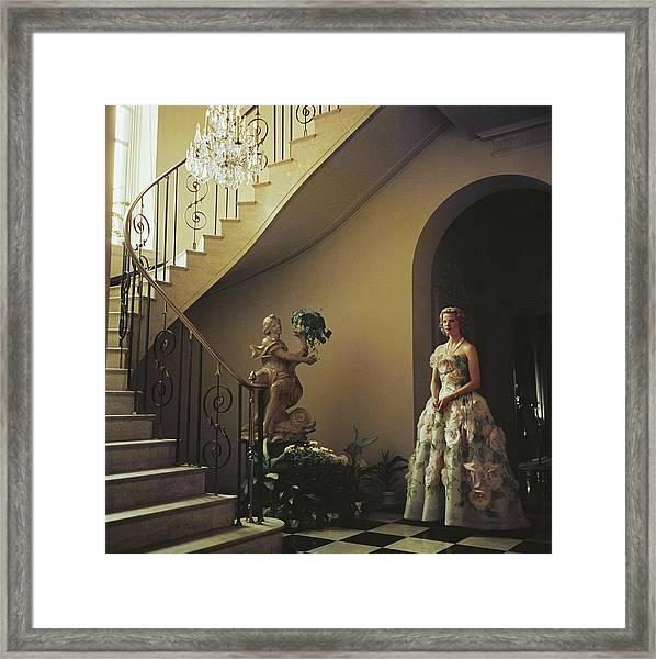 Muffy Bancroft Framed Print by Slim Aarons