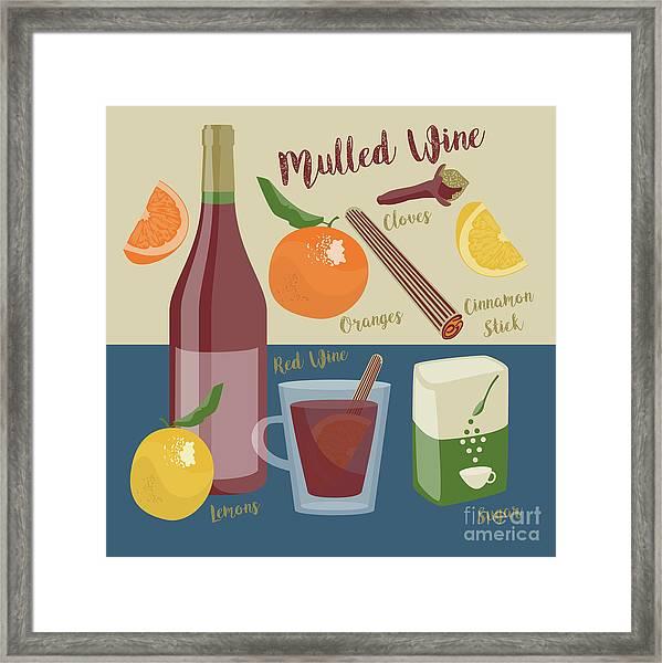 Mulled Wine Framed Print