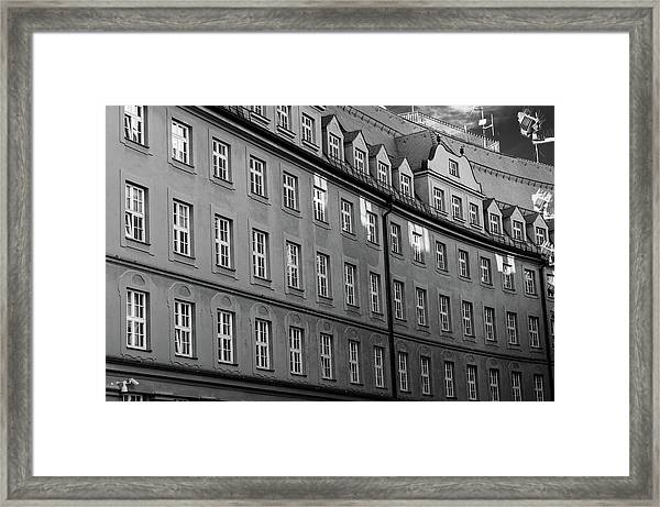Munich Police Headquarters Framed Print