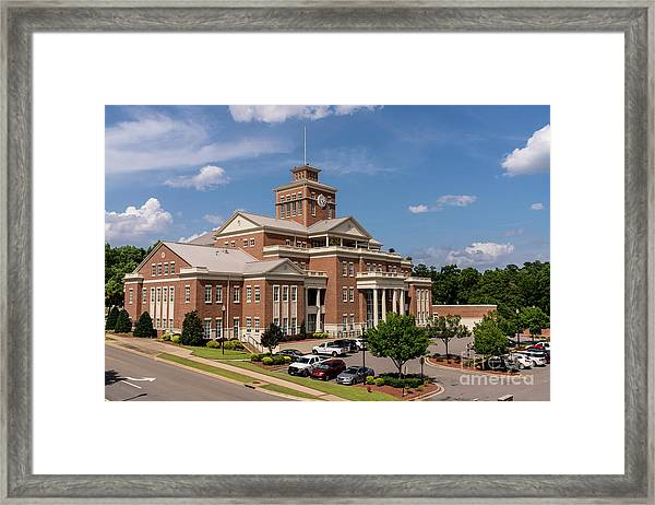 Municipal Building - North Augusta Sc Framed Print