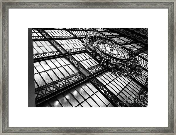 Musee D'orsay Framed Print