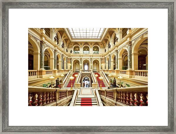Museum In Prague Framed Print