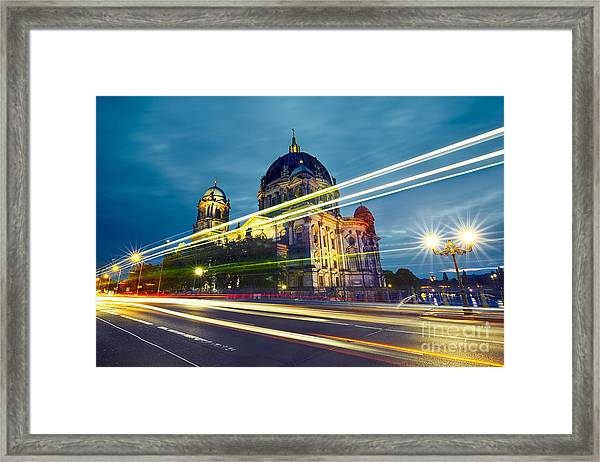 Museum Island With Berlin Cathedral - Framed Print