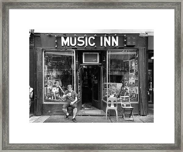 Music Inn Framed Print