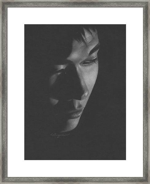 Muted Shadow No. 10 Framed Print