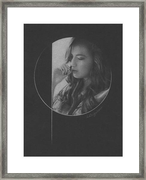 Muted Shadow No. 5 Framed Print