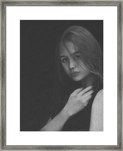 Muted Shadow No. 6 Framed Print