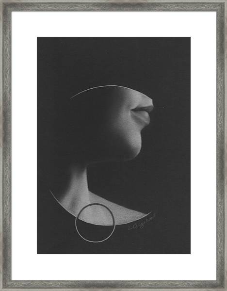 Muted Shadow No. 7 Framed Print