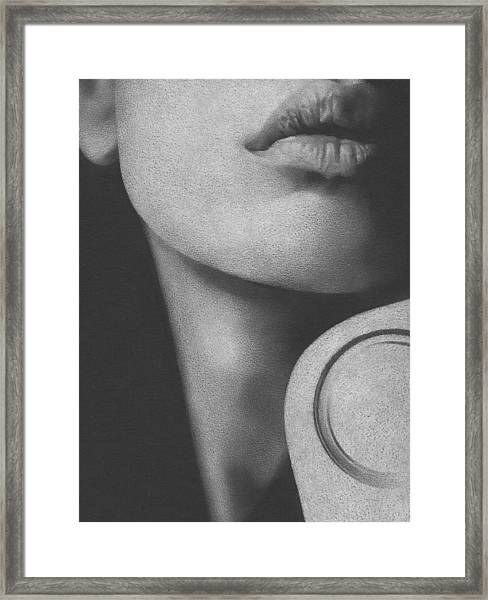Muted Shadow No. 8 Framed Print