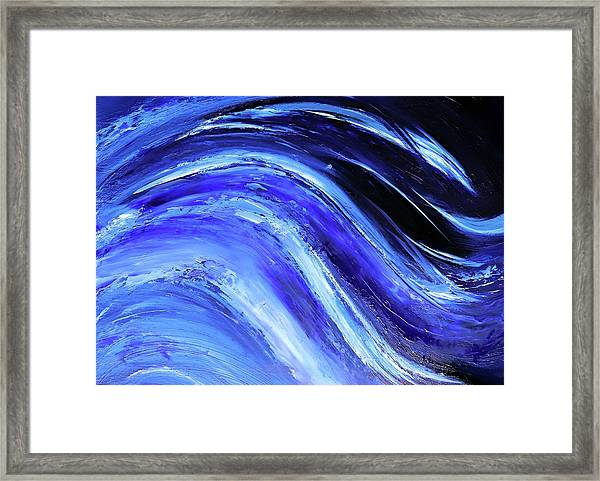 My Blue Ocean Framed Print