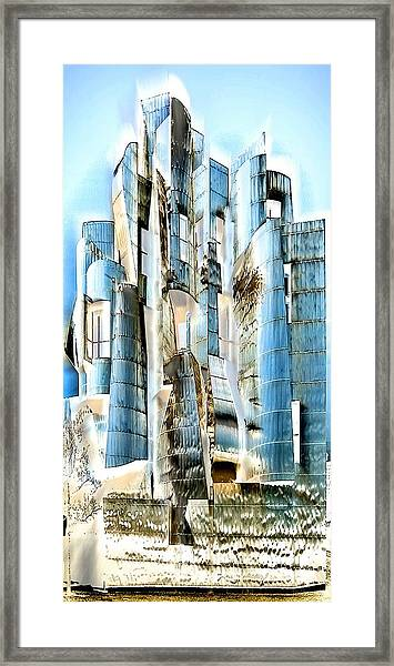 My Fortress Of Dancing Steel Framed Print