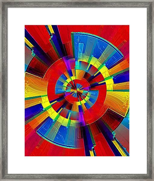 My Radar In Color Framed Print