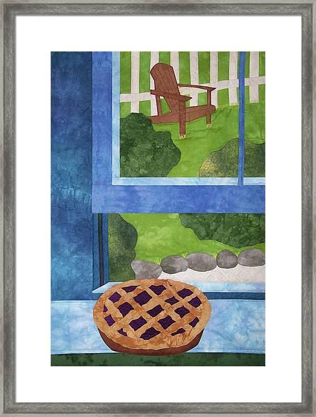 My Soul In A Blackberry Pie Framed Print